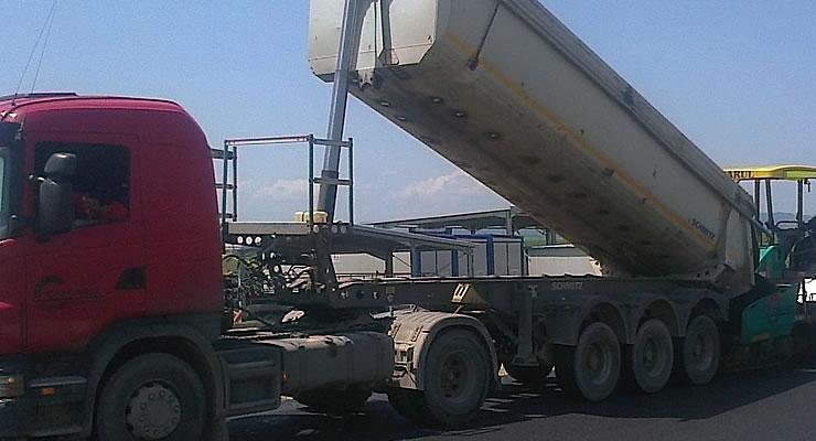 Transport specializat asfalt