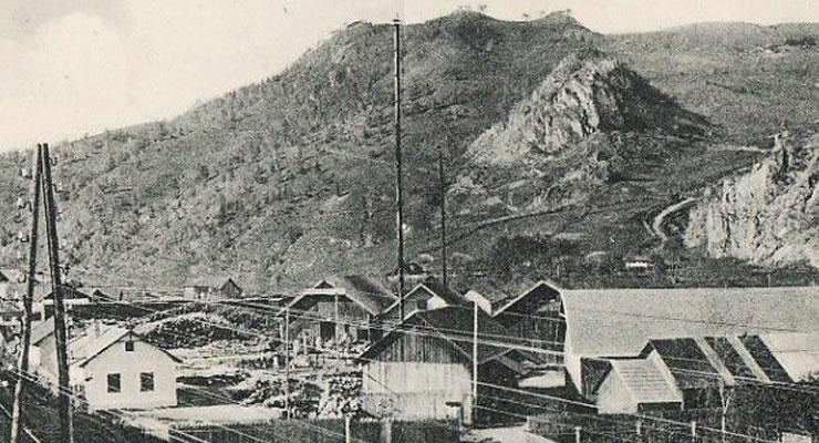 Cariera Peciștea la început de secol XX
